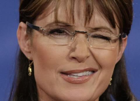 Sarah Palin Winks