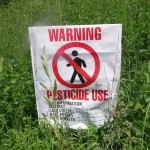 Warning Pesticides