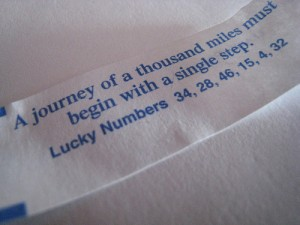 Journey of a Thousand Miles Fortune Cookie Pic 300x225 How Far Would You Travel To Find Meaning In Your Life?