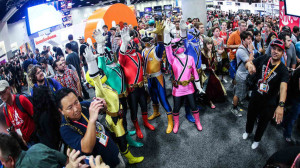 Comic con 300x168 Are Superheroes and Comic con the Respite from Reality we Require?